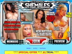 Wild Shemales in XXX Movie Expose